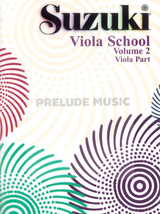 Suzuki Viola School Viola Part Volume 2