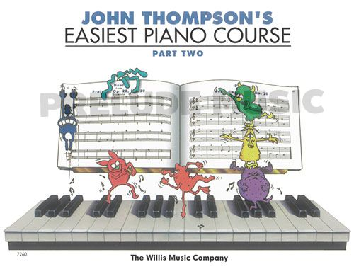 John Thompson's: Easiest Piano Course Part 2