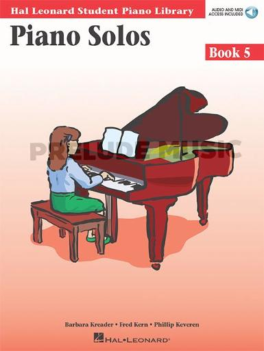 Hal Leonard Student Piano Library: Piano Solos Book 5+Online Audio
