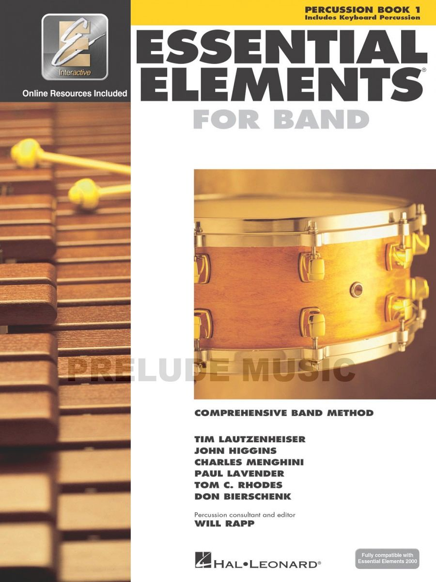 Essential Elements for Band � Percussion/Keyboard Percussion Book 1