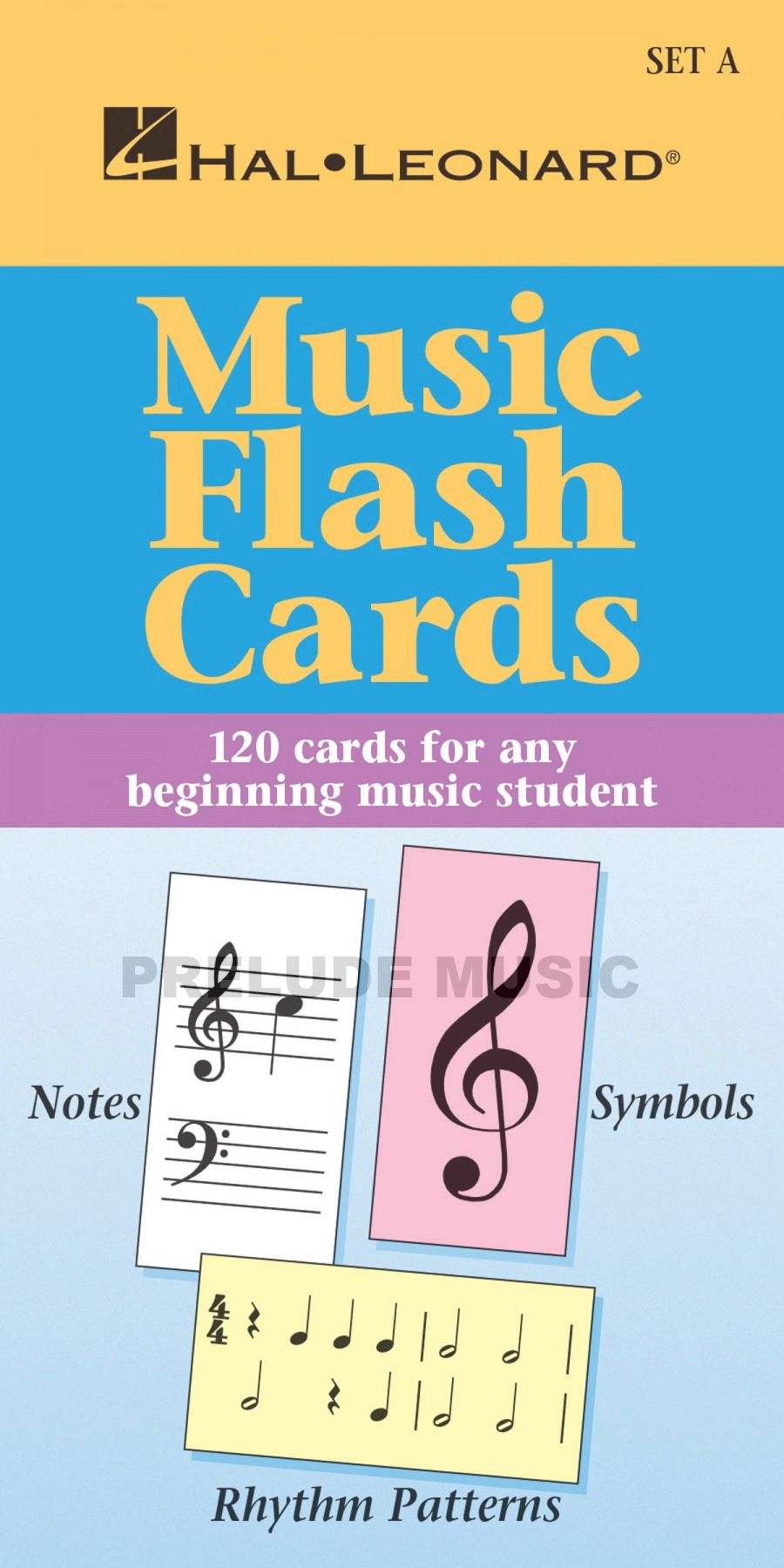 Music Flash Cards Set A