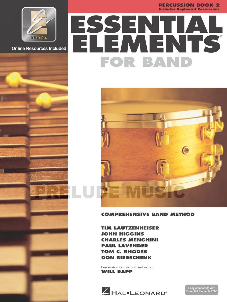 Essential Elements for Band � Percussion/Keyboard Percussion Book 2