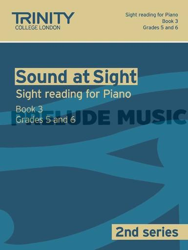 Trinity Guildhall Sound at Sight Volume 3 Piano Book 3 (Grades 5-6)