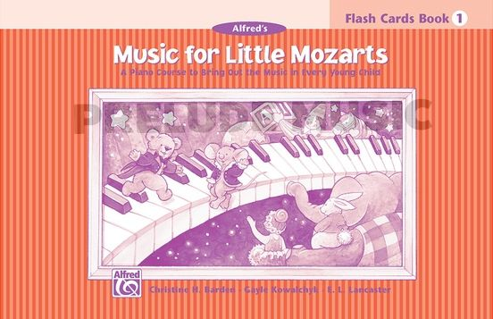 Music for Little Mozarts: Flash Cards, Level 1