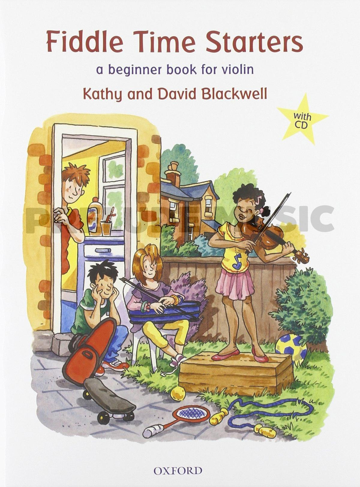 Fiddle Time Starters  A beginner book for violin