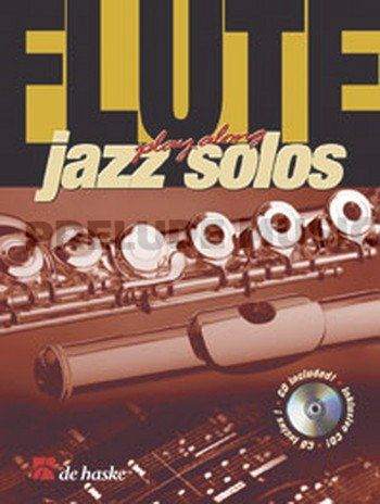 Flute Play-Along Jazz Solos
