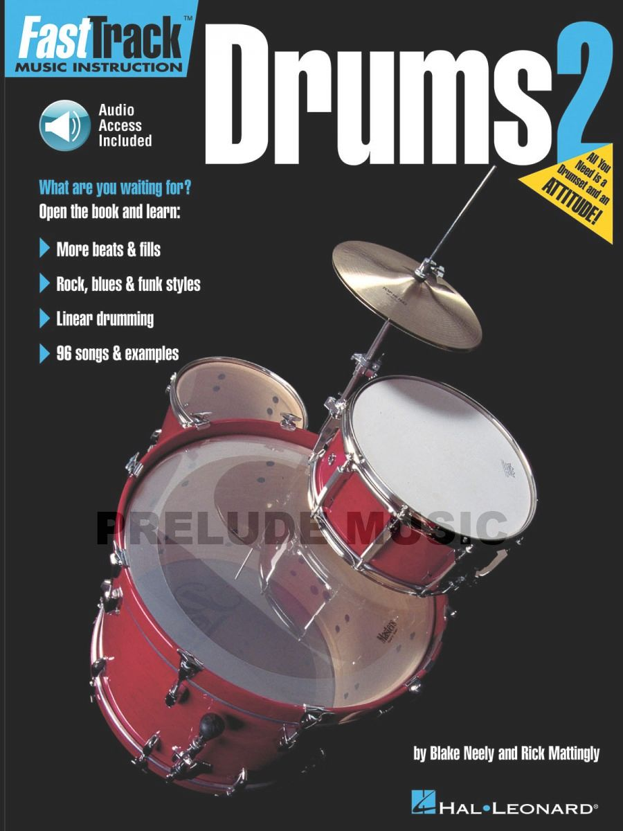 FastTrack Drum Method, Book 2