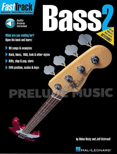 FastTrack Bass Method, Book 2