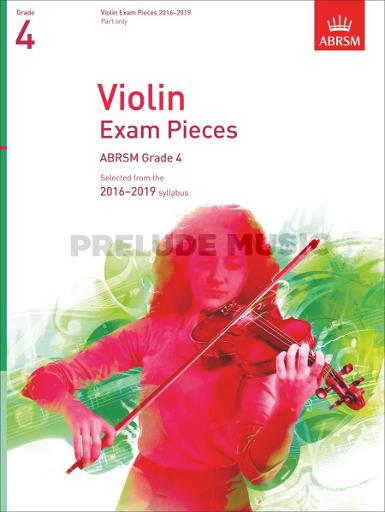 Violin Exam Pieces 2016-2019, ABRSM Grade 4