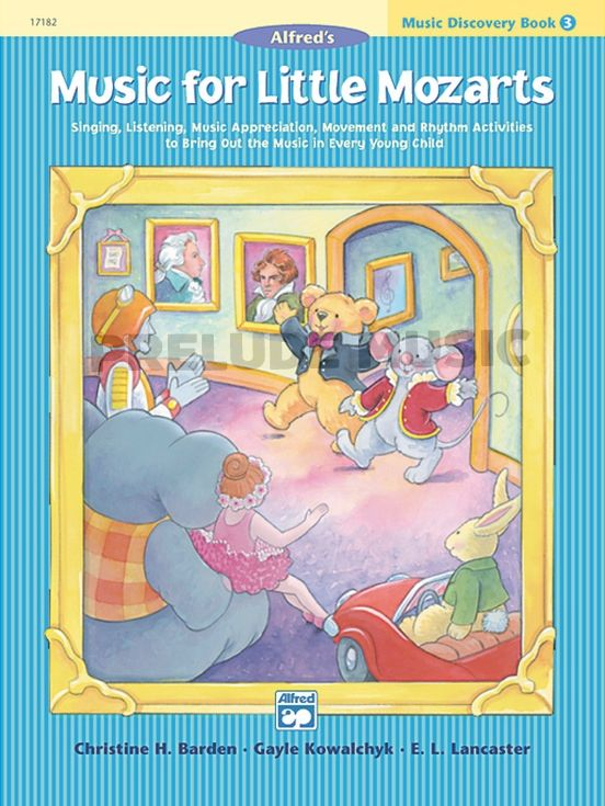 Music for Little Mozarts: Music Discovery Book 3