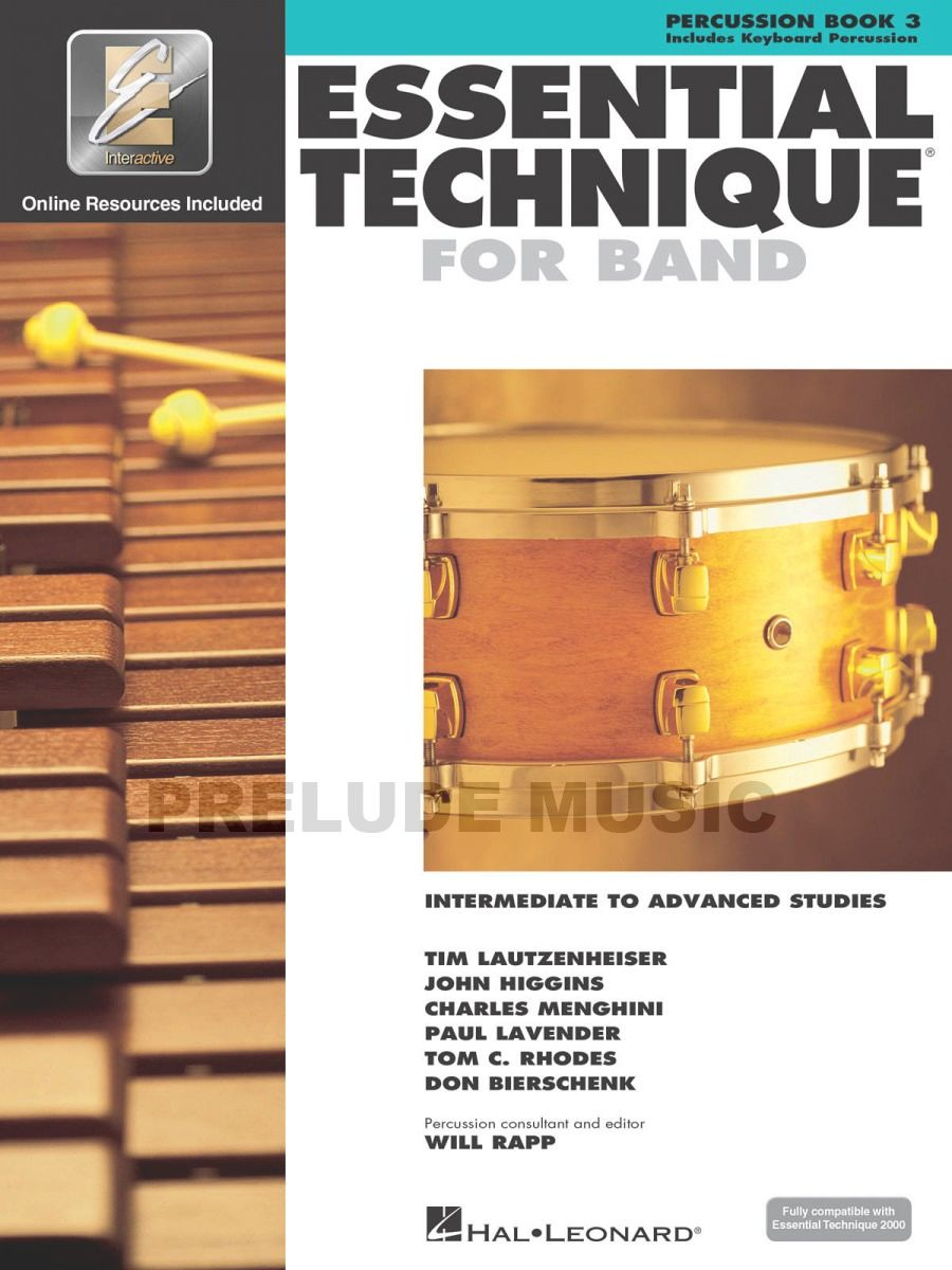 Essential Elements for Band � Percussion/Keyboard Percussion Book 3