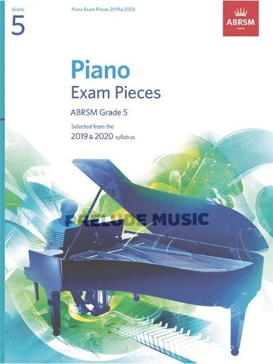 Piano Exam Pieces 2019 & 2020, Grade 5