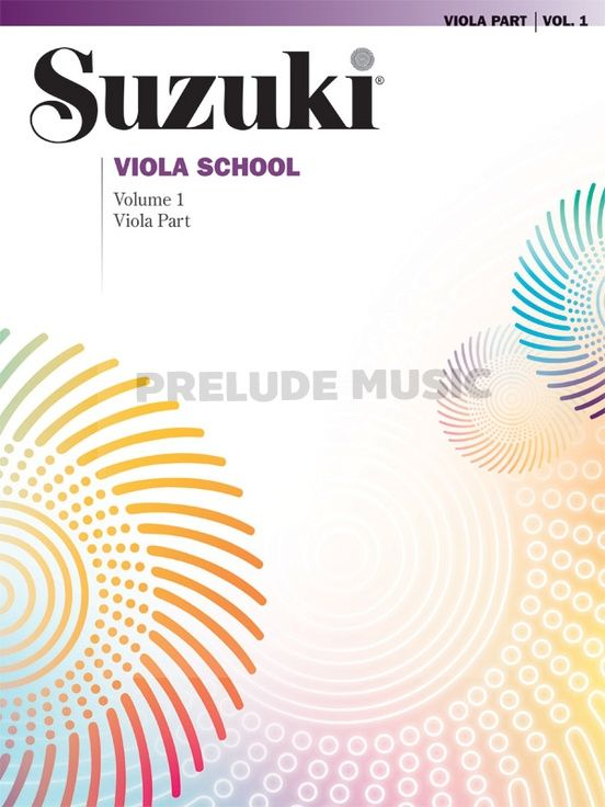 Suzuki Viola School Viola Part Volume 1