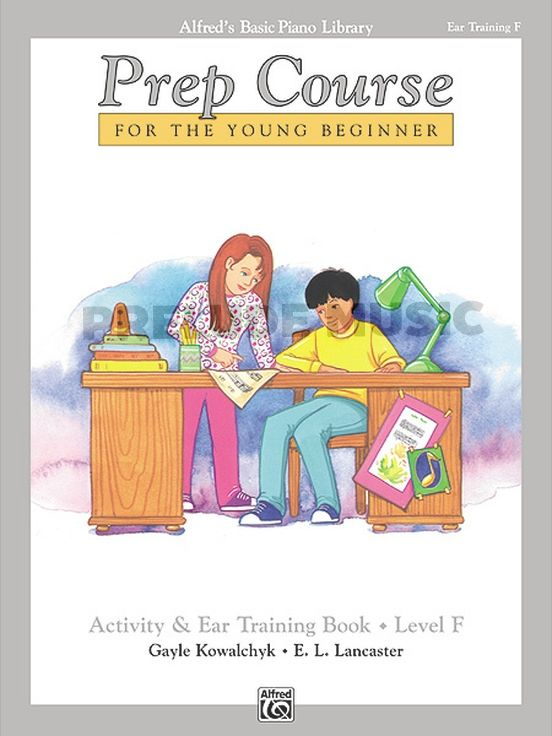 Alfred's Basic Piano Prep Course : Activity & Ear Trainning Book F