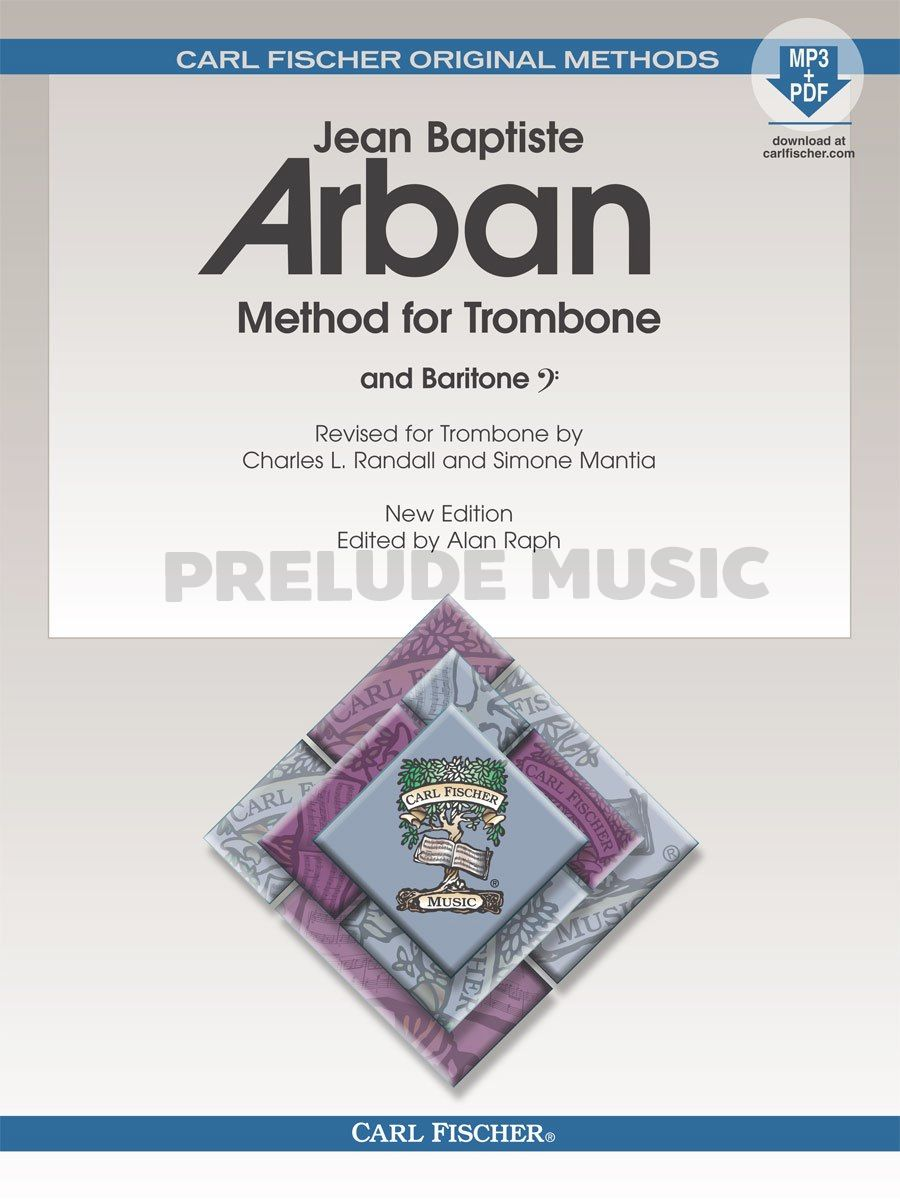 Method for Trombone New Edition Edited by Alan Raph