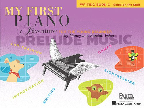 My First Piano Adventure: Writing Book C