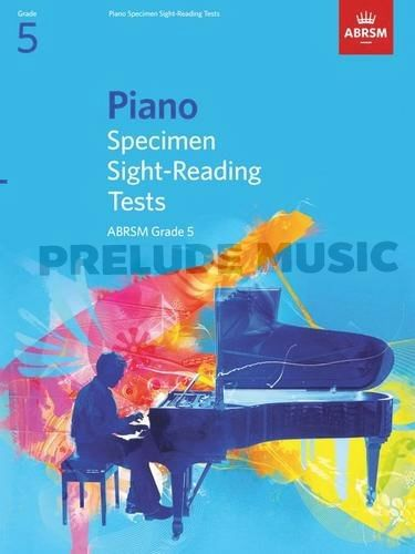 ABRSM Piano Specimen Sight Reading Tests: From 2009 (Grade 5)