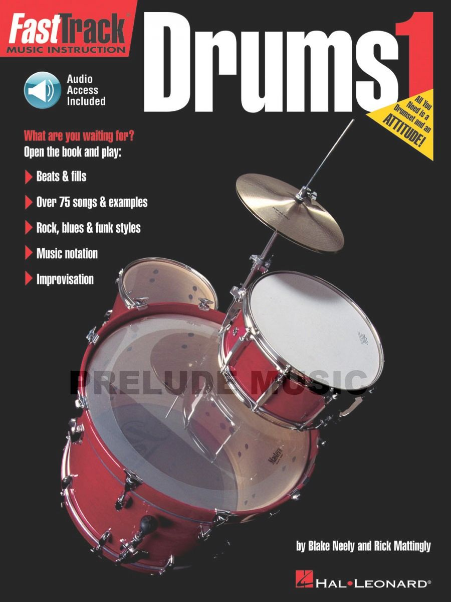 FastTrack Drum Method, Book 1
