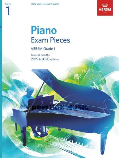 Piano Exam Pieces 2019 & 2020, Grade 1