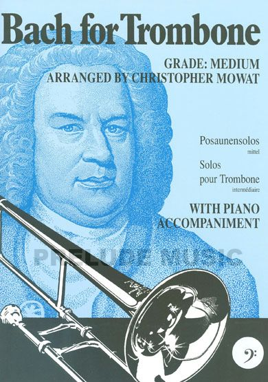 Bach for Trombone Bass Clef